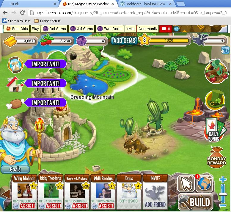 games dragon city2